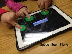 Speech Room News: Tap Roulette, free app that works great for speech therapy!