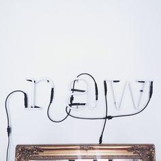 Seletti Neon Letters!