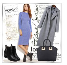 """""""ROMWE 5"""" by woman-1979 ❤ liked on Polyvore featuring WALL"""