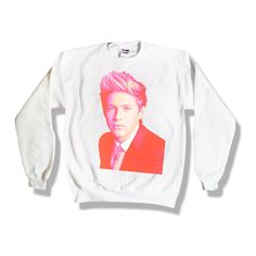 One Direction Niall Horan 016 Sweatshirt x Crewneck x Jumper x Sweater... ($25) ❤ liked on Polyvore
