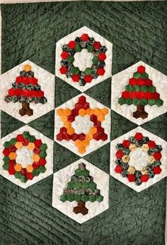 Image result for hexagon christmas