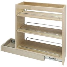 "21"" x 24"" Featuring Soft-close Dura-close Slides Base Cabinet Pullout"