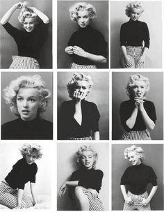 Marilyn Monroe and poses Marylin Monroe, Marilyn Monroe Haircut, Marilyn Monroe Wedding, Marilyn Monroe Outfits, Marilyn Monroe Drawing, Pin Up, Foto Portrait, Norma Jeane, Brigitte Bardot