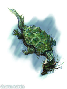 Dragon Turtle By William Ou0027Connor