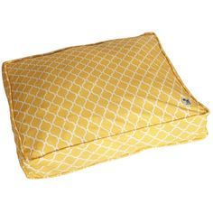 Molly Mutt duvet these days: white diamonds on a sunny yellow background