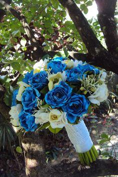 Mais um sonho realizado - noivinhas loucas por azul.