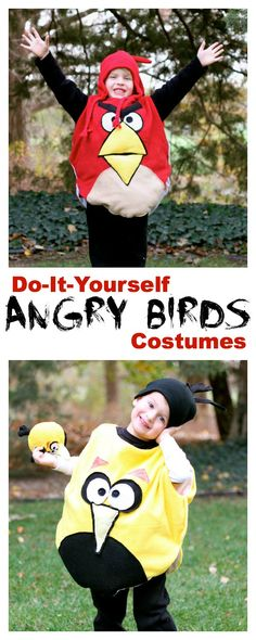 DIY Angry Bird Costumes