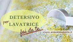 Per realizzare un detersivo lavatrice fatto in casa serve sapone di Marsiglia e bicarbonato di sodio. Ecco 3 ricette per il detersivo lavatrice fai da te.