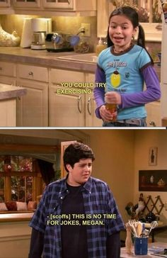 No time for jokes! - I miss Drake & Josh