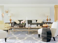 KELLY WEARSTLER | INTERIORS. Bel Air Residence, Living Room