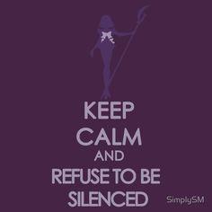 Keep Calm: Sailor Saturn