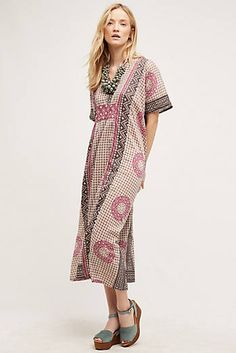 Shop new women's clothing at Anthropologie to discover your next favorite closet staple. Check back frequently for the latest clothing arrivals! Best Maxi Dresses, Dress Outfits, Fashion Dresses, Short Sleeve Dresses, Maxi Wrap Dress, Boho Dress, Super Cute Dresses, Comfortable Outfits, Boho Fashion