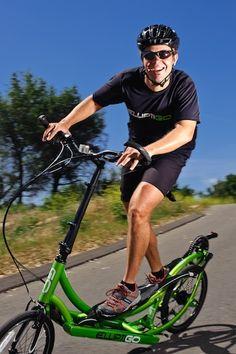 The ElliptiGO - an outdoor elliptical - might grant you a double-take.