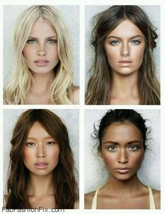 Pretty natural makeup. just enough to enhance your natural features. #makeup #strobing