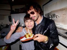Celebrating OLIVIER ZAHM's birthday at Sushi Kilala, Paris. Photo Caroline Gaimari