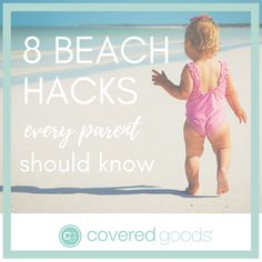 8 Beach Hacks Every Parent Should Know - Covered Goods, inc. Best Nursing Cover, Portable Playpen, Beach Hacks, Baby Pool, Breastfeeding Cover, Mesh Laundry Bags, Beach Toys, Hospital Bag, What To Pack