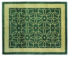 Craftsman Honeycomb. Sandstone. The Craftsman Rug Collection, based on designs found in Gustav Stickley's Craftsman Magazine. These rugs are made in Tibet, hand knotted of hand-dyed Tibetan wool.