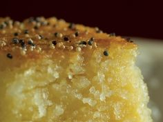 This Burmese semolina pudding is rich and moist in the middle and crunchy on top. Full recipe from hsa*ba, myanmar cookbook by award winning author Tin Cho Chaw. Burmese Desserts, Asian Desserts, Just Desserts, Burmese Recipes, Small Desserts, Semolina Pudding, Semolina Cake, Raw Food Recipes, Dessert Recipes