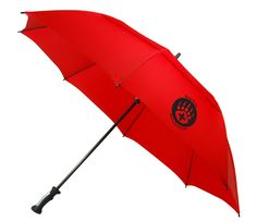 Sale! Large windproof Golf umbrella. Strong fiberglass shaft and armature, Plastic Comfortable handle Grip, Swift Auto Open operation, 60 inch arc,Matching Sleeve, Double Layered Windproof White fiberglass frame makes it windproof, open straight stick umbrella. Great promotional item for golf,  rain, weather, gym, fitness, day care, camps, travel, health care, sport, hospitals, schools, banks, trade show handouts, gifts, and the outdoors.