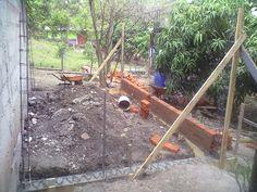 Construcción de área cocina