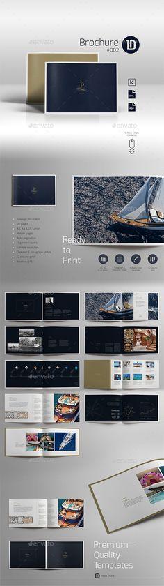 Multipurpose Luxury Brochure 002  — EPS Template #luxury #book • Download ➝…