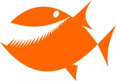 Image for fish toothy cartoon animal clip art