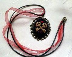 Embroidered necklaceBulgarian by KoserowaHandMade on Etsy