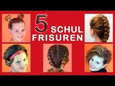 5 liebste Schulfrisuren einfache Frisuren mit Rainbow Loom für Sport, Uni , Alltag. Flechten, Kordeln, drehen - Spaß mit Haare