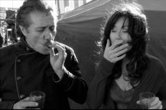 President Roslin and Admiral Adama -- BSG. Quite possibly the best definition of an OTP I've ever found.  (Edward James Olmos and Mary McDonnell)