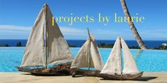 step by step instructions for building driftwood boats