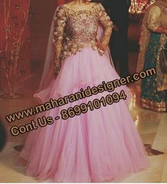 #IndianWeddindGownOnline #DesignerGownforBridal #PartyWearGownOnline #HeavyBridalgownOnline Maharani Designer Boutique  To buy it click on this link http://maharanidesigner.com/Anarkali-Dresses-…/bridal-gowns/ Rs - 24100 Net Hand Work & Thread work  Available in All Colors Fine Quality fabric  For any more information contact on WhatsApp or call 8699101094 Website www.maharanidesigner.com