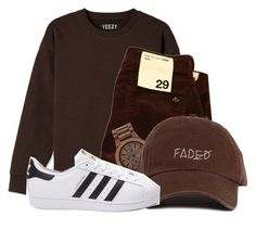 """""""Untitled #1235"""" by shyannelove123 ❤ liked on Polyvore featuring rag & bone, WeWood and adidas"""