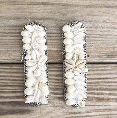 NEW OOAK cowrieshell bracelet framed with silver by BonkIbiza