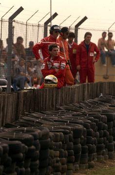 Ayrton Senna da Silva (BRA) (Honda Marlboro McLaren), McLaren MP4/5 - Honda V10…