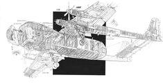 Armstrong Whitworth AW.650/660 Argosy cutaway