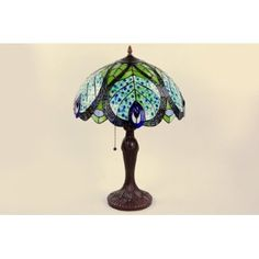 Stain Glass Peacock Lamp http://shop.crackerbarrel.com/Stain-Glass-Peacock-Lamp/dp/B006L5MT5C