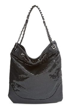 Big Buddha Studded Faux Leather Hobo available at #Nordstrom