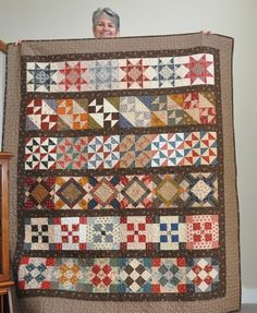 "my finished ""row quilt"" challenge."