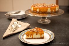 Nordic Nibbler: Norwegian Baked Cheesecake with Brunost-Pecan Caramel – Recipe