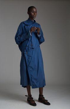 Vintage Issey Miyake Military Coat Designer Vintage Clothing Minimal Fashion