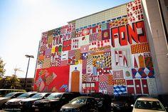 Barry Mcgee aka Ray Fong mural Brooklyn
