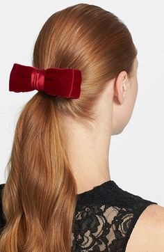 L. Erickson 'Nobility Bow' Hair Clip available at Nordstrom
