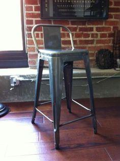 San Jose: Low Back Gunmetal Bar Stools $150 - http://furnishlyst.com/listings/7030