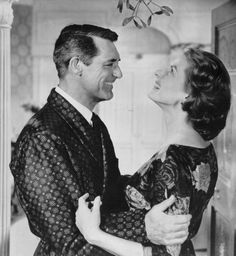 """Cary Grant and Ingrid Bergman from """"Indiscreet"""", (1958)"""