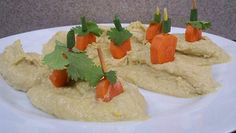 Healthy Fun Fall Recipes - pumpkin patch carrots and hummus