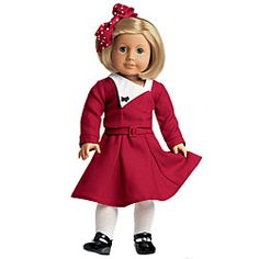 Kit's Christmas Outfit (would a girl really dress like this during the Depression?)