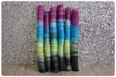 www.sparkyarn.com - rockin rolags - merino wool, sparkle - unique hand blended fiber for spinning, felting, fiber arts - one of a kind