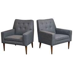 Mid-Century Modern Lounge Chairs $3800