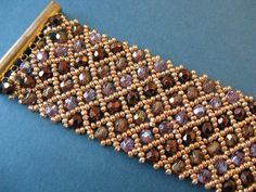 Lots of crystals bracelet by Cielo Design, via Flickr