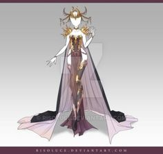 (CLOSED) Adoptable Outfit Auction 73 by Risoluce on DeviantArt